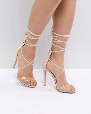 Aster Clear Strappy Sandals